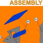 AD Laser Images - birdhouse kit assembly steps