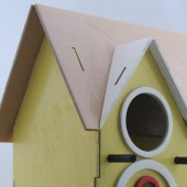 AD Laser Images - birdhouse kit 2